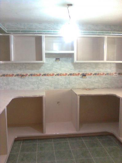 Yonny martinez ampliacion y construccion de viviendas en for Modelos de cocinas empotradas en cemento y porcelanato