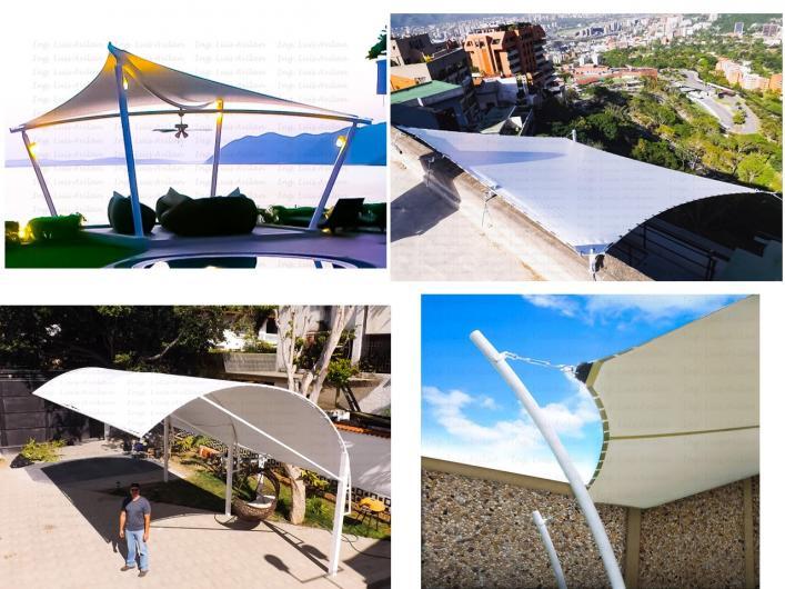 Estructuras metalicas para terrazas elegant fotos de for Como hacer una estructura metalica para techo